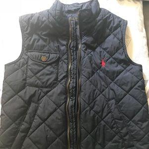Boys polo vest